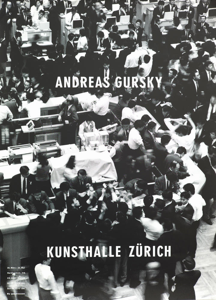 Andreas Gursky - Kunsthalle Zürich Poster