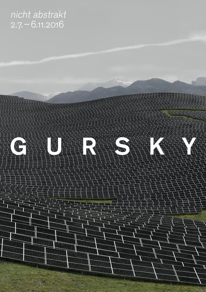 EXHIBITION: ANDREAS GURSKY - NOT ABSTRACT