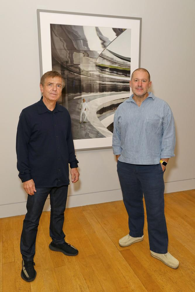 Unveiling of the new portrait of designer Sir Jonathan Ive at the National Portrait Gallery