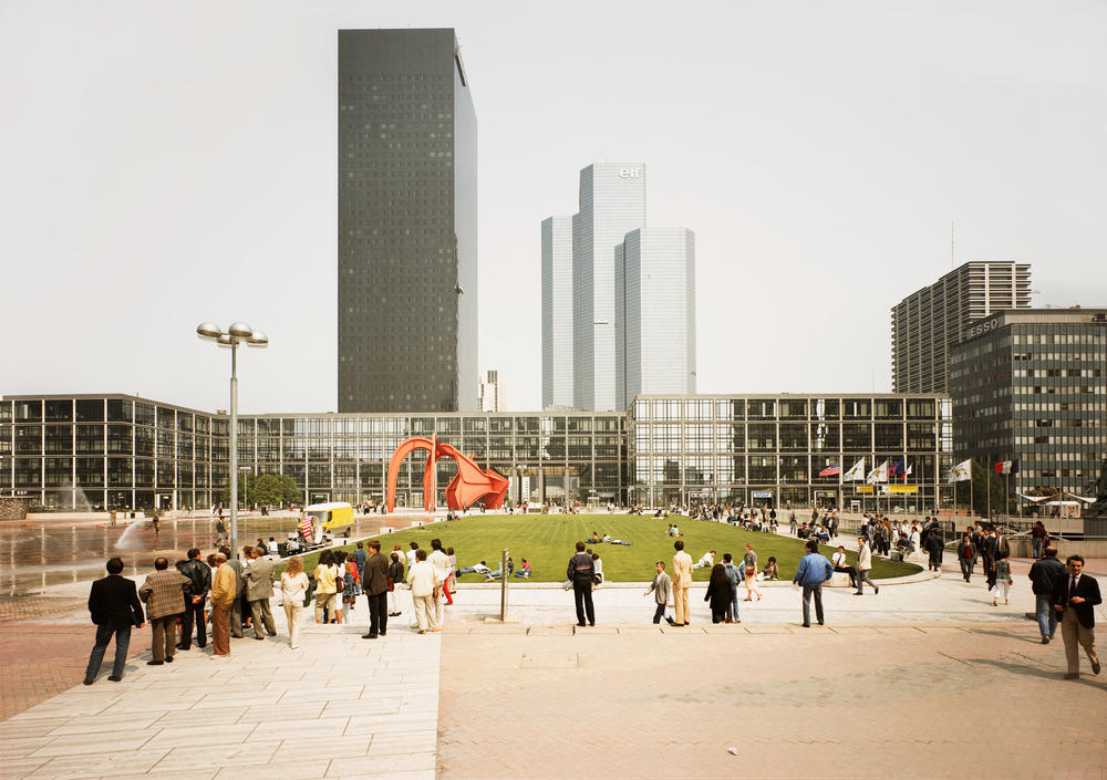 Andreas Gursky - Paris, La Défense, Film Shoot
