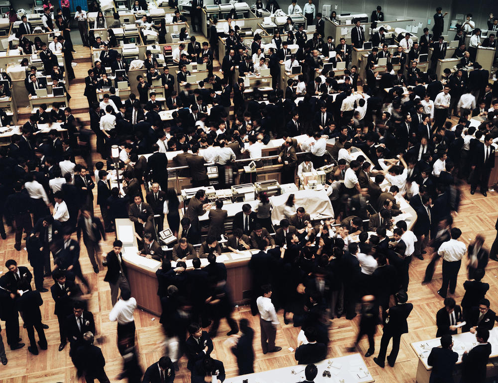 Andreas Gursky - Tokyo, Stock Exchange