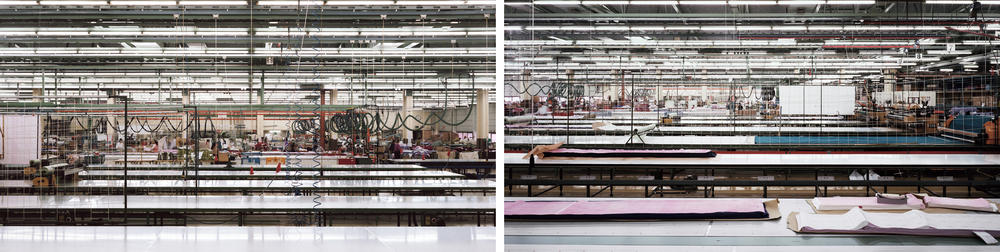 Andreas Gursky - Schiesser, Diptych