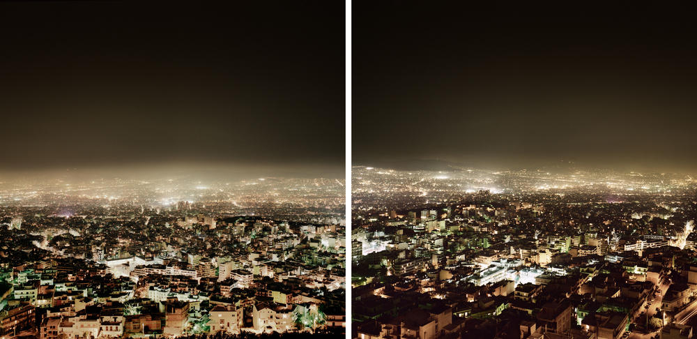 Andreas Gursky - Athens, Diptych