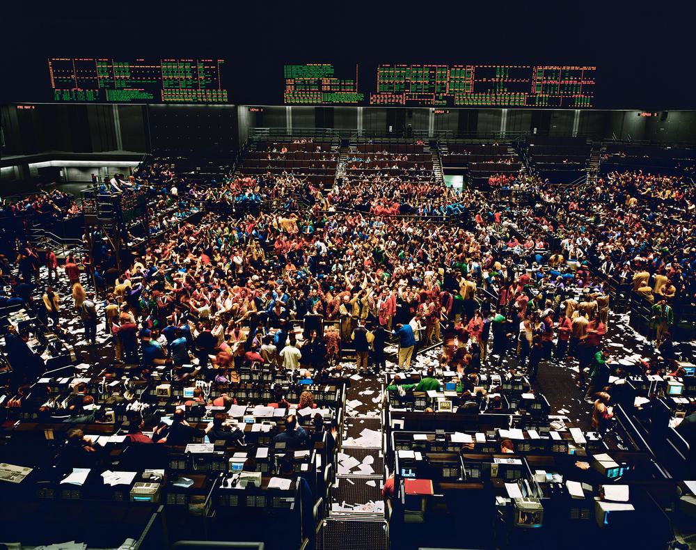 Andreas Gursky - Chicago Board of Trade I