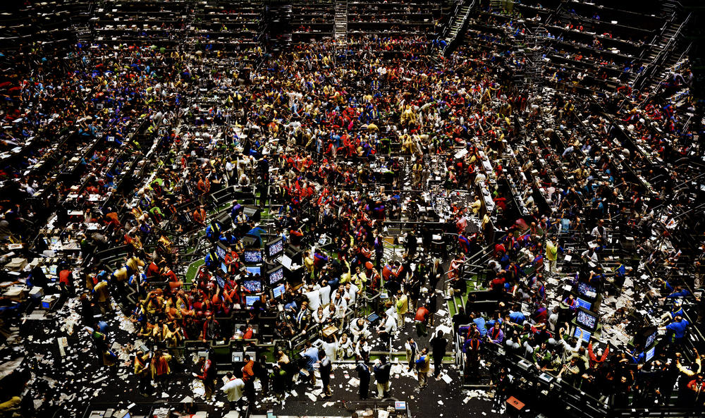 Andreas Gursky Works Chicago Board Of Trade Ii