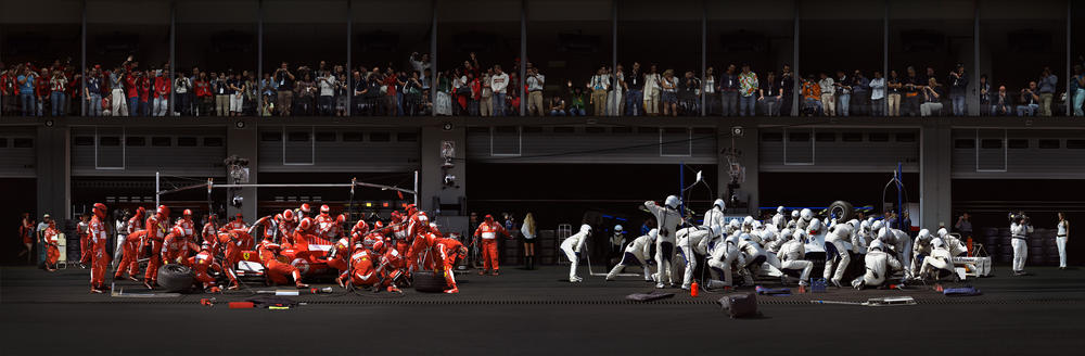 Andreas Gursky - F1 Boxenstopp I