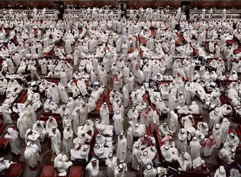 Andreas Gursky - Kuwait Stock Exchange II